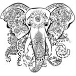Elephant Adult Coloring Pages 23 Elephant Mandala Coloring Pages Download Coloring Sheets