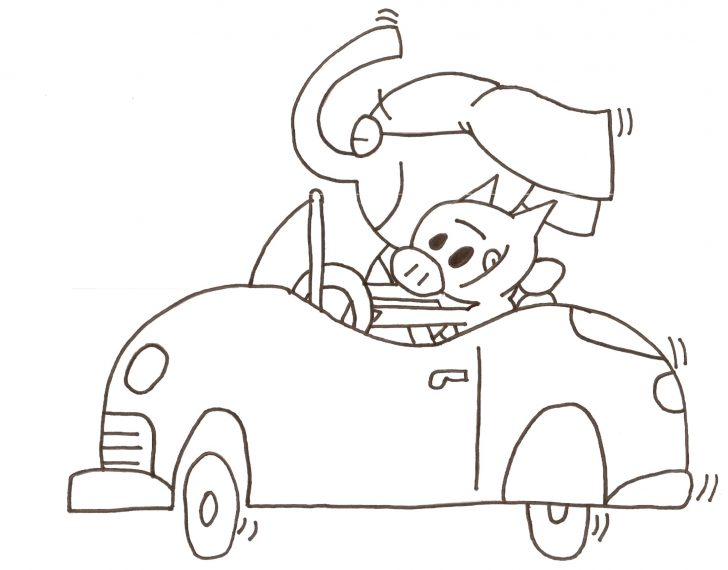 Elephant And Piggie Coloring Pages Elephant And Piggie Coloring Pages Unique Mo Willems Coloring Pages