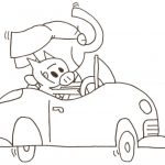 Elephant And Piggie Coloring Pages The Best Free Piggie Coloring Page Images Download From 18 Free