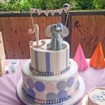 Elephant Birthday Cakes Childrens Birthday Cakes Elysia Root Cakes