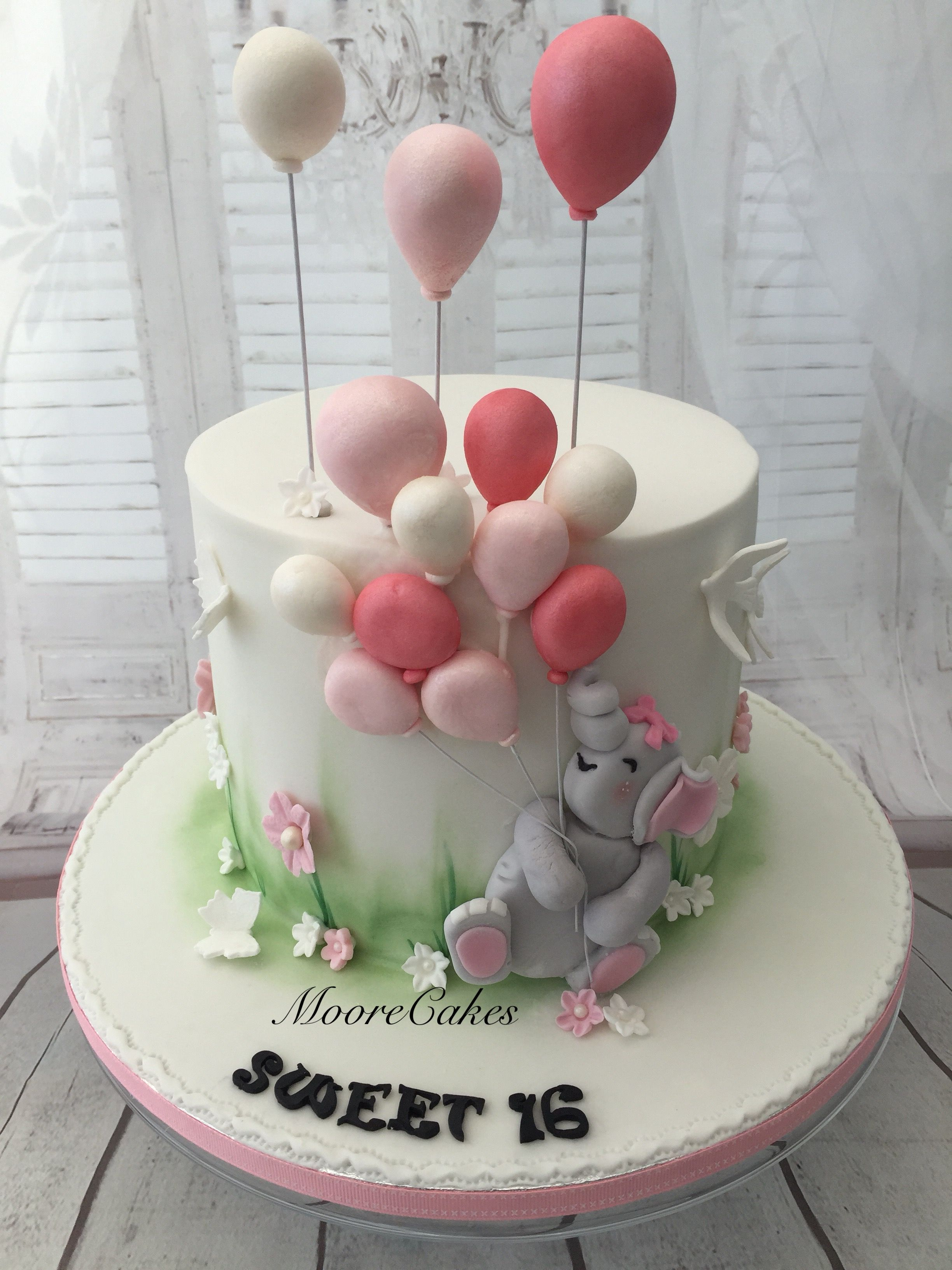Elephant Birthday Cakes Cute Elephant Birthday Cake Torten Pinterest Birthday Cakes