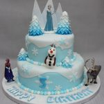 Elsa Birthday Cake 11 Round Birthday Cakes Disney Elsa Photo Frozen Birthday Cake