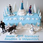 Elsa Birthday Cake Disney Frozen Birthday Cake Miss Cupcakes