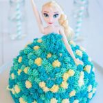 Elsa Birthday Cake Elsa Cake Easy Diy Birthday Cake Tutorial My Kids Lick The Bowl