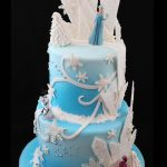 Elsa Birthday Cake Frozen Birthday Cake Sweet Passion Cakery