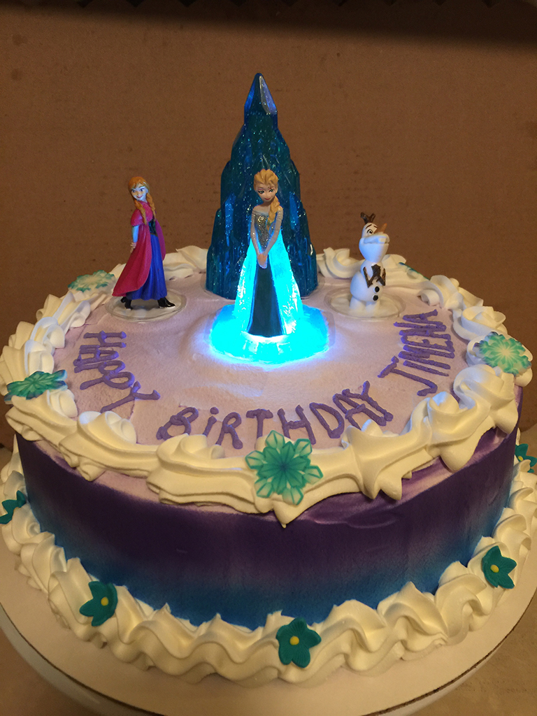 1024 In 30 Inspired Image Of Elsa Birthday Cake Frozen Light Up