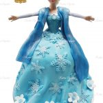 Elsa Birthday Cakes 3d Elsa Doll Birthday Cake