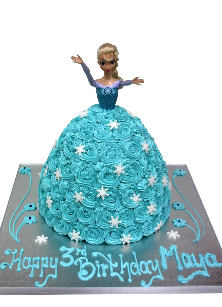 Elsa Birthday Cakes Elsa Shaped Cake