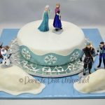 Elsa Birthday Cakes Frozen Birthday Cake Domestic Diva Unleashed