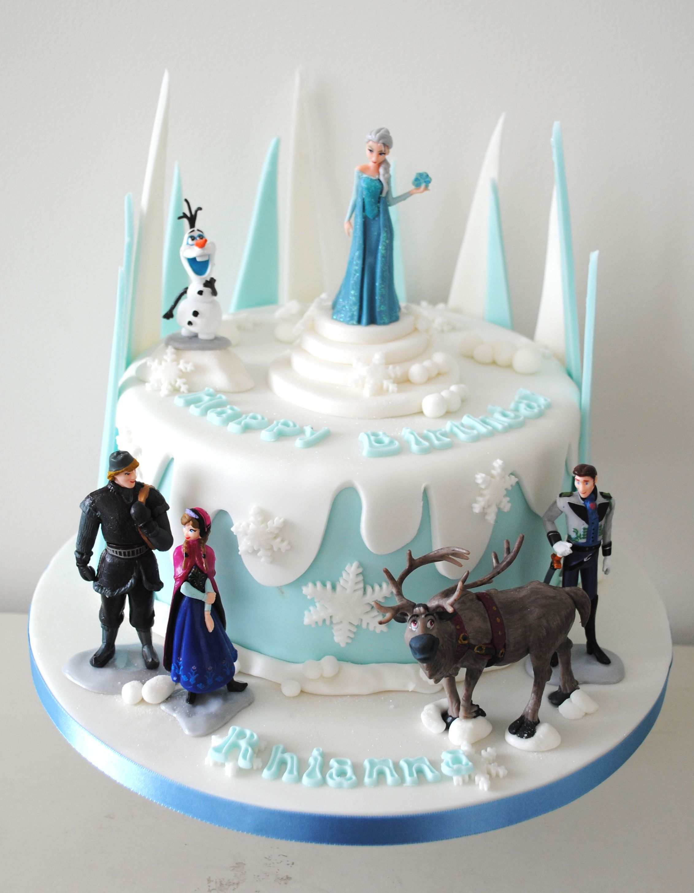 Elsa Birthday Cakes Frozen Birthday Cake Google Search Ba Ives Pinte