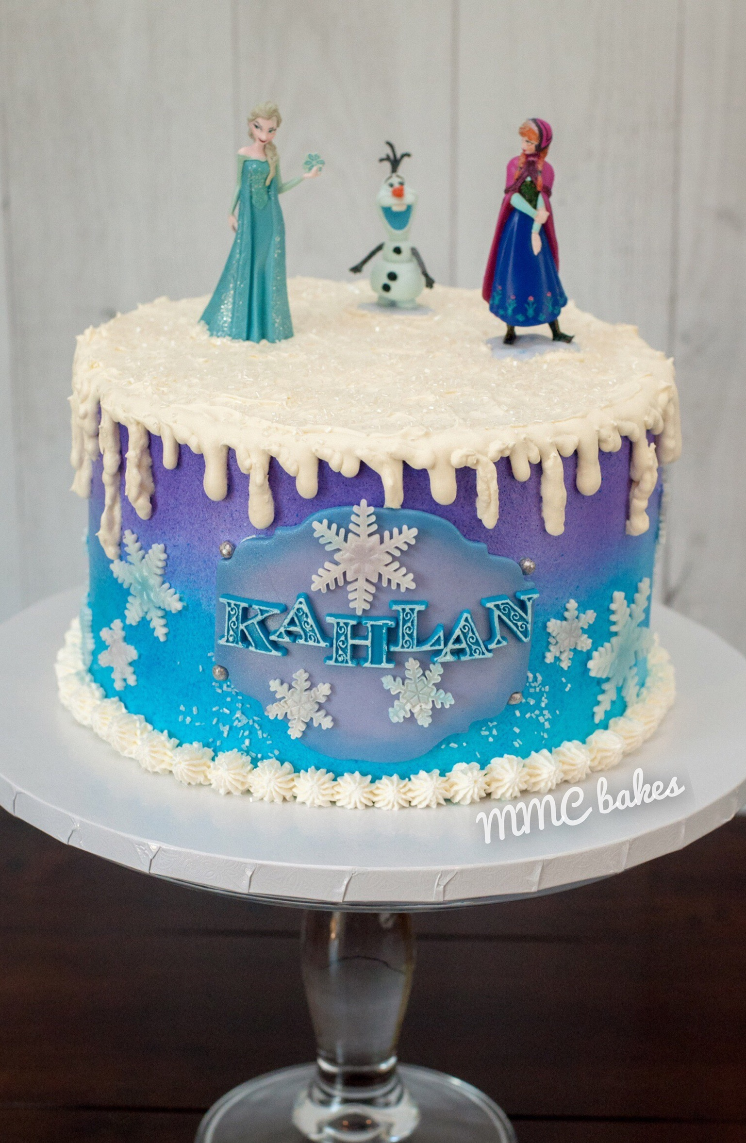 Elsa Birthday Cakes Frozen Birthday Cake Mmc Bakes