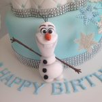 Elsa Birthday Cakes Frozen Birthday Cake With Anna And Elsa As Children Cakecentral