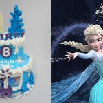 Elsa Birthday Cakes Frozen Elsa Birthday Cake Youtube