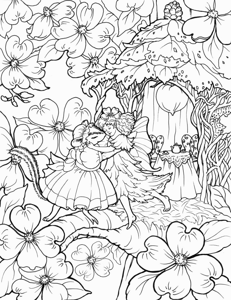 Fairy Coloring Page Better Fairy Coloring Page Book Enjoy Pages In World Impact 19432