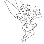 Fairy Coloring Page Fairy Coloring Pages With Holiday Also Thanksgiving Kids Image