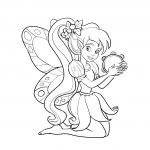 Fairy Coloring Page Free Printable Fairy Coloring Pages For Kids