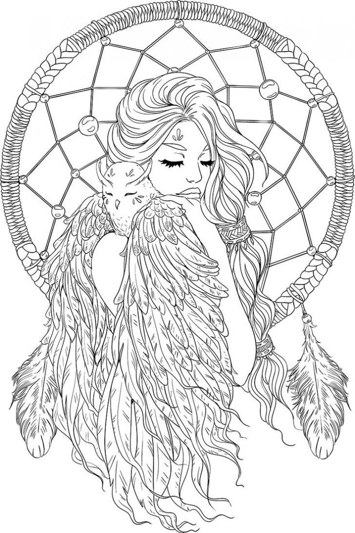 25+ Elegant Picture of Fantasy Coloring Pages