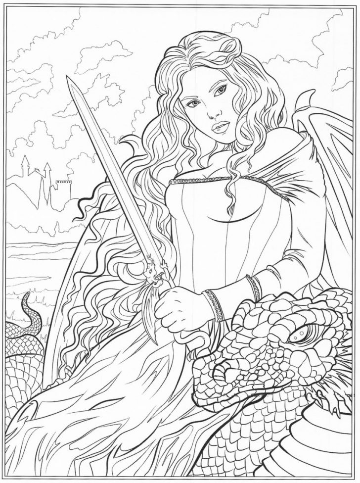 Fantasy Coloring Pages Coloring Pages Ideas Freetable Fantasy Coloring Pages For Adults
