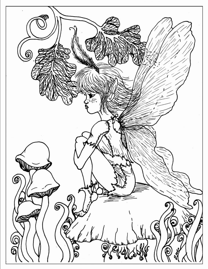 Fantasy Coloring Pages Fairy Printable Coloring Pages Awesome Fantasy Coloring Pages For Ruva