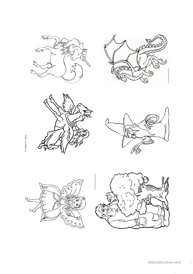 Fantasy Coloring Pages Fantasy Coloring Pages Worksheet Free Esl Printable Worksheets
