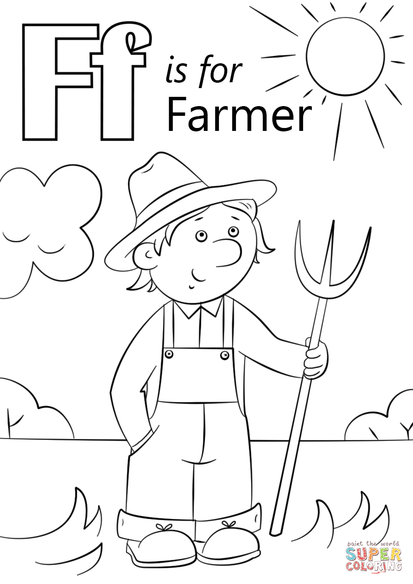 30+ Inspired Picture of Farm Coloring Pages