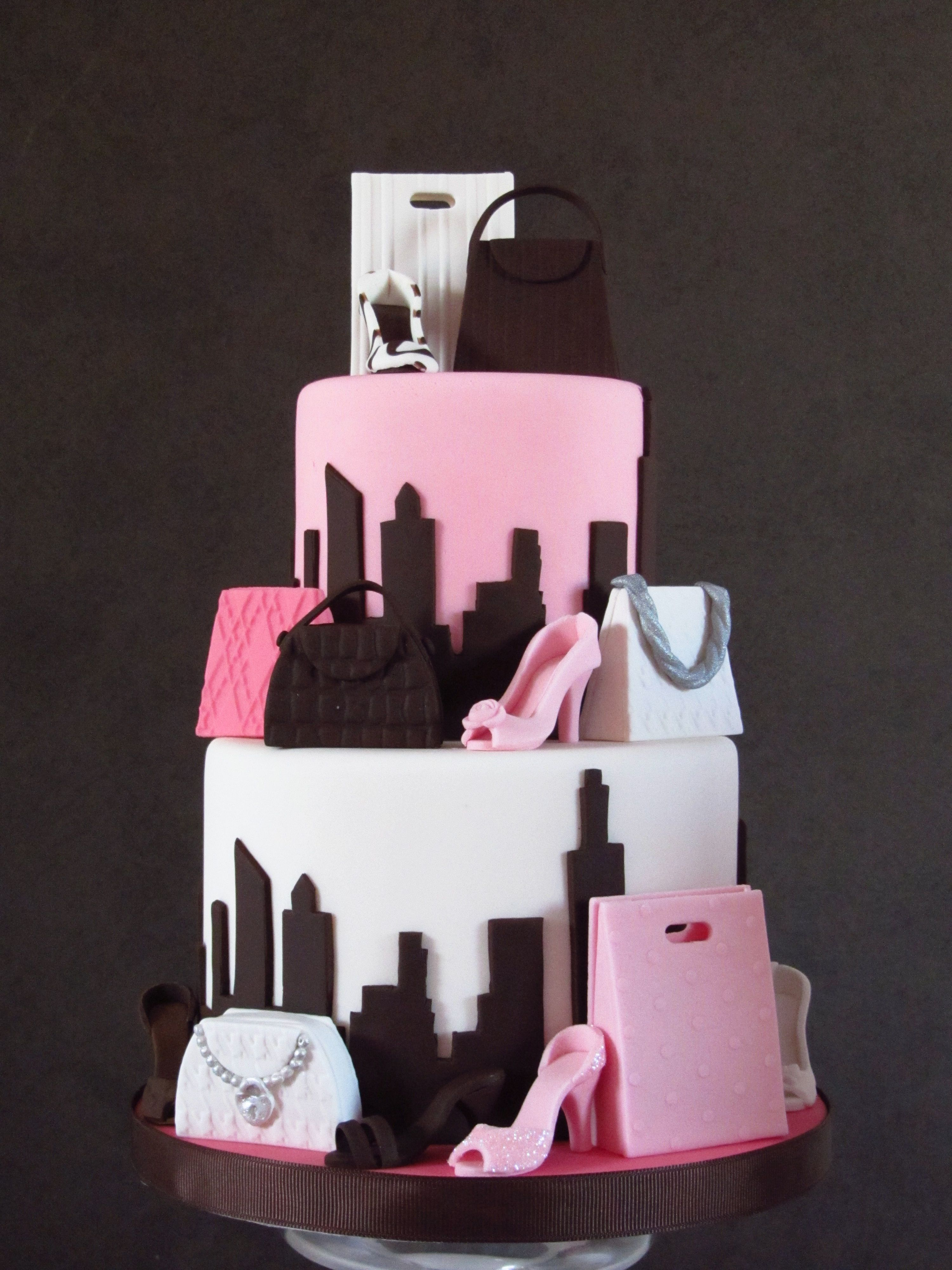 34+ Amazing Picture of Fashion Birthday Cake