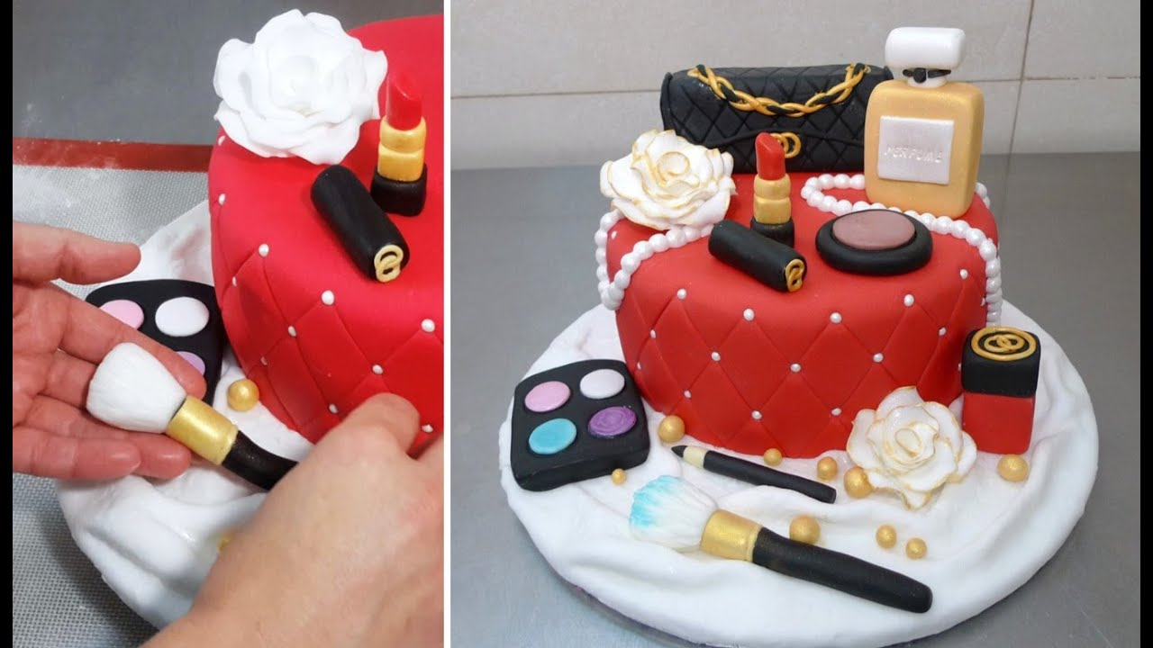 720 In 34 Amazing Picture Of Fashion Birthday Cake