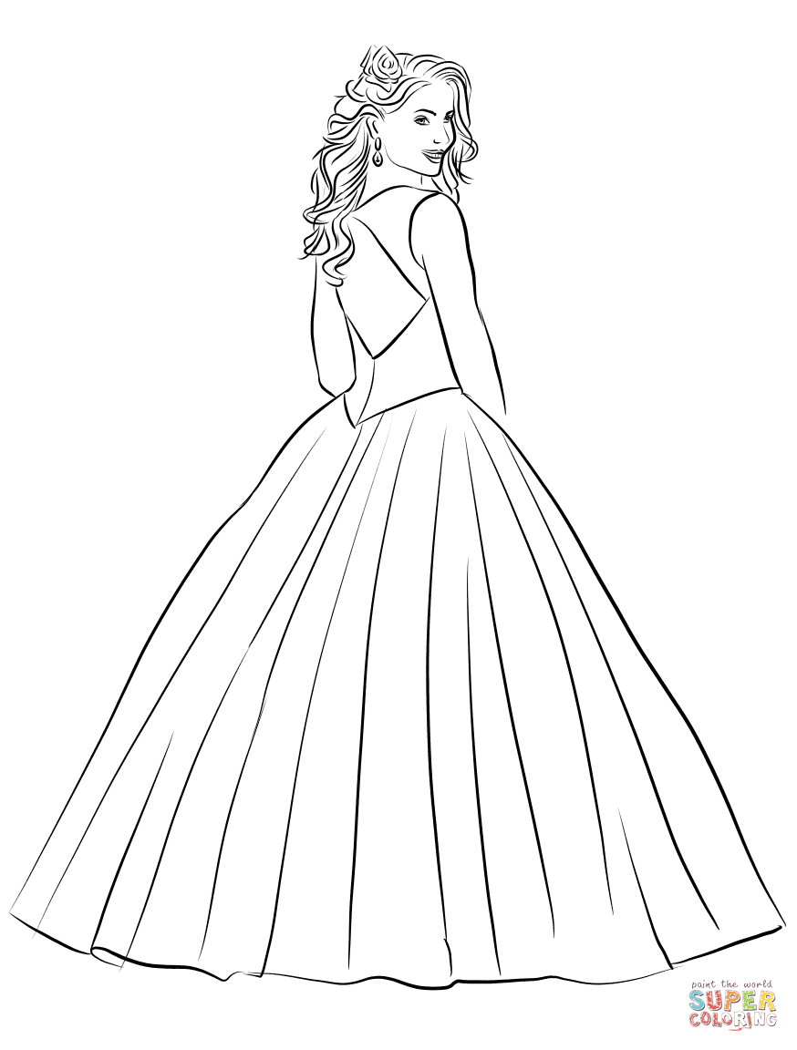 25+ Creative Picture of Fashion Coloring Pages