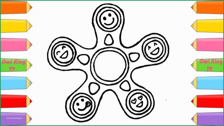 Fidget Spinner Coloring Page Amazing Gallery Of Fidget Spinner Coloring Pages Coloring Pages
