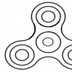Fidget Spinner Coloring Page Fidget Spinner Coloring Pages Learn Colors For Kids With Fidget