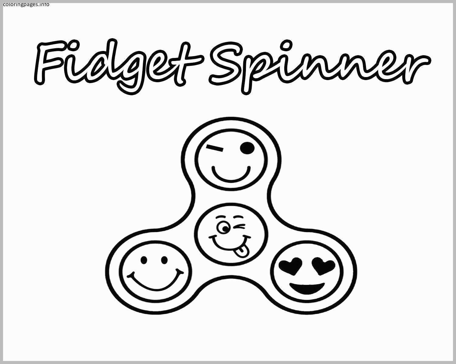 Fidget Spinner Coloring Page Free Printable Fidget Spinner Coloring Pages For Kids With Fidget