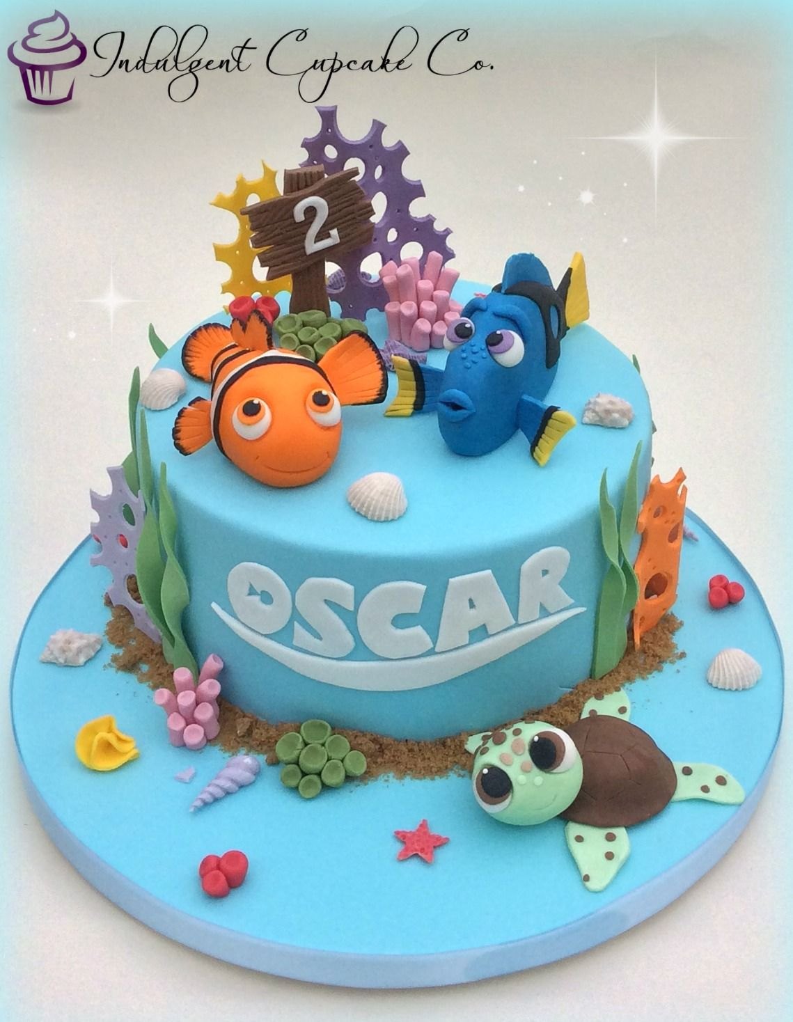 35+ Best Picture of Finding Nemo Birthday Cake
