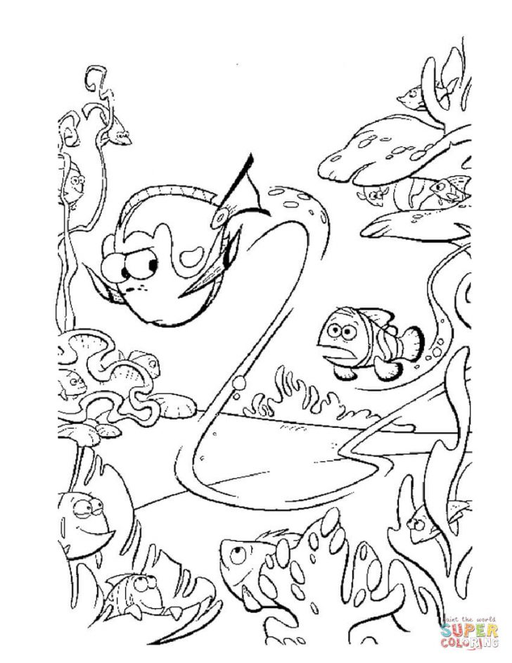 Finding Nemo Coloring Pages Coloring Pages Finding Nemo Coloring Sheets Pages Free Staggering