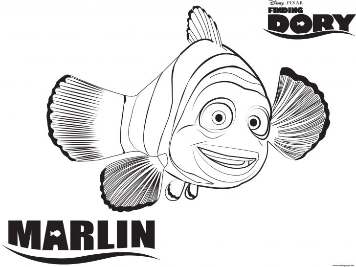 Finding Nemo Coloring Pages Disney Pixar Finding Nemo Coloring Pages Awesome Finding Dory