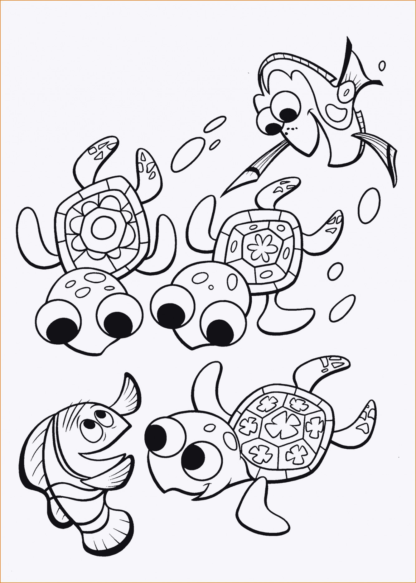 Finding Nemo Coloring Pages Finding Dory Coloring Pages Best Collections Of 32 Ausmalbilder Nemo