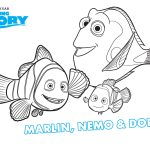 Finding Nemo Coloring Pages Finding Dory To Color For Children Finding Dory Kids Coloring Pages