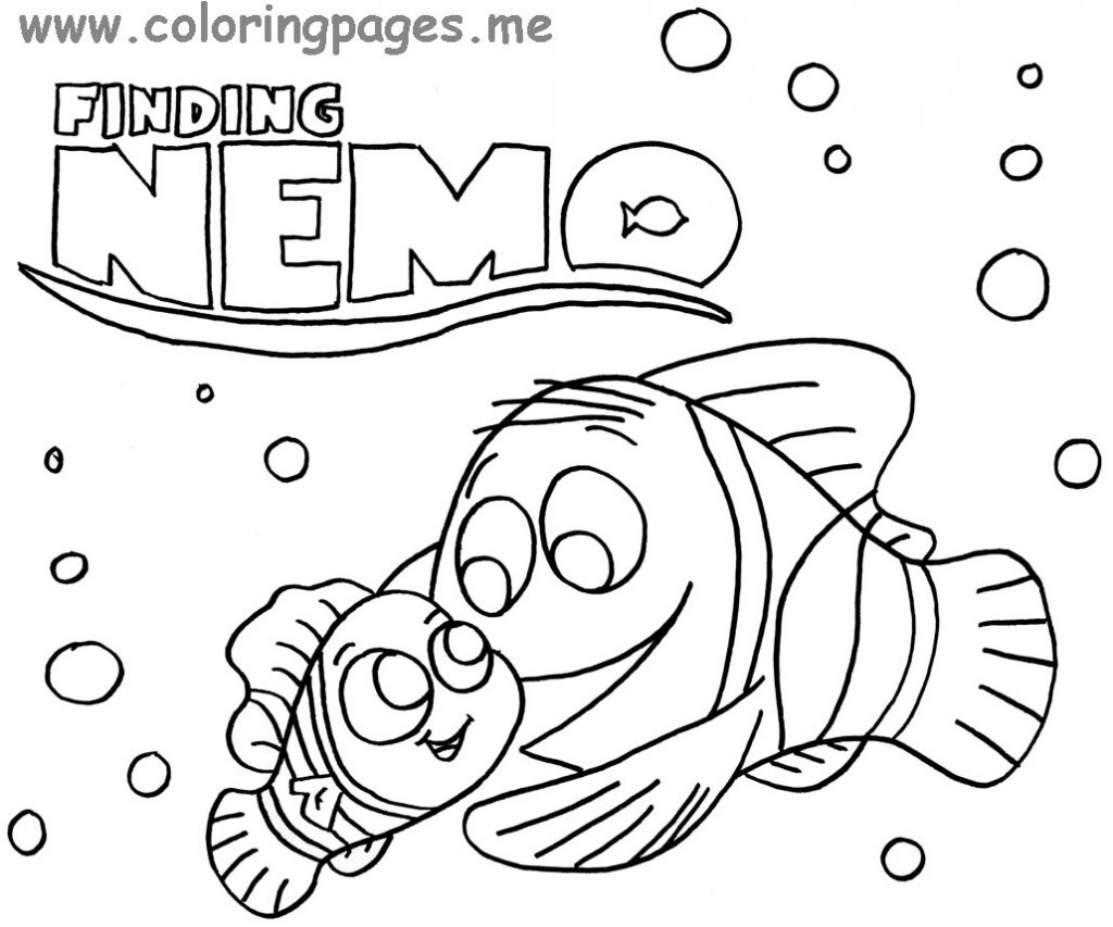 Finding Nemo Coloring Pages Finding Nemo Turtle Coloring Pages At Getdrawings Free For