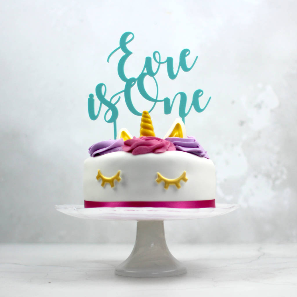 34+ Creative Photo of First Birthday Cake Topper