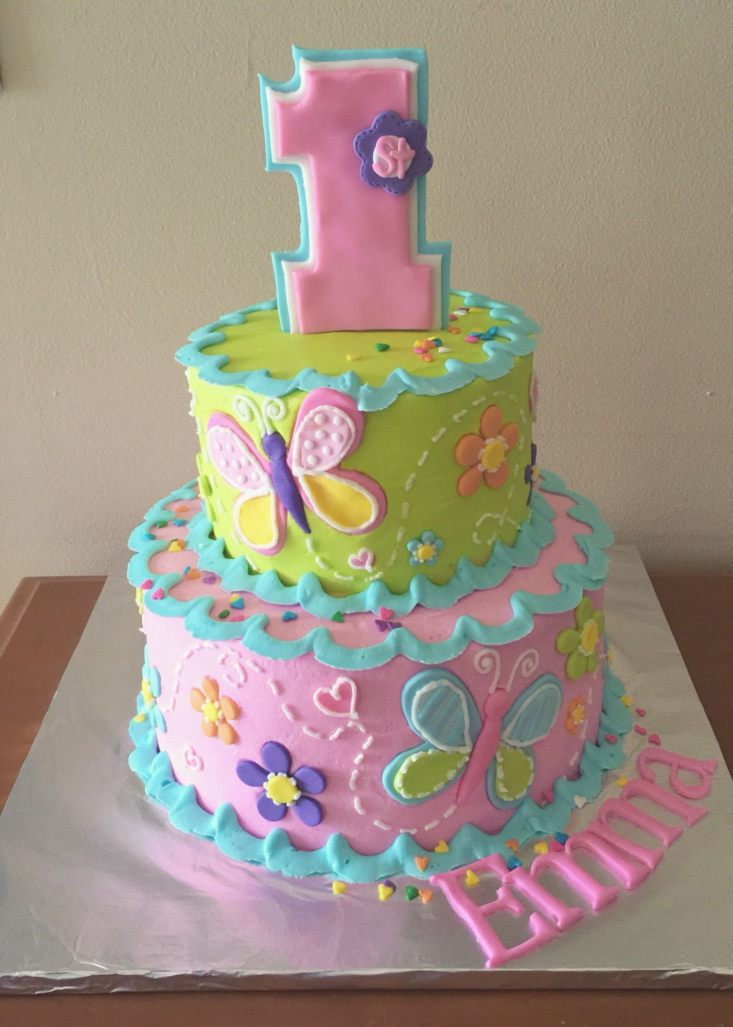 32+ Great Picture of First Birthday Cakes For Girls