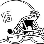 Football Helmet Coloring Page College Football Helmet Coloring Pages At Getdrawings Free For