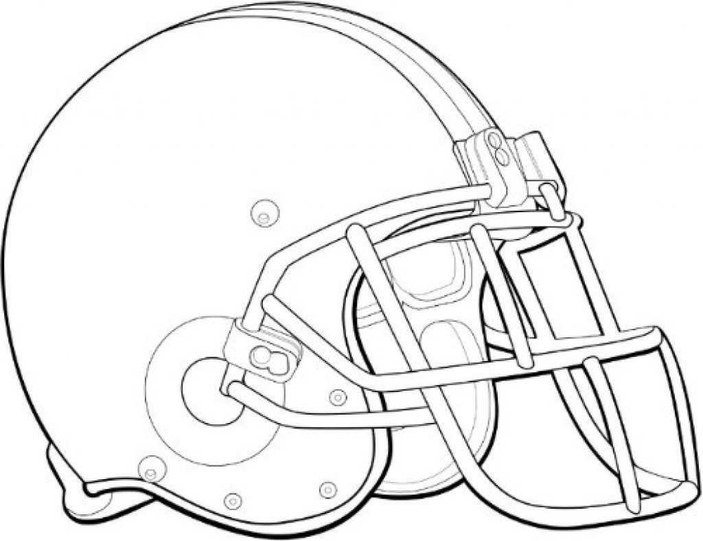Football Helmet Coloring Page Coloring Pages Of Football Helmets Bokamosoafrica Org Within Helmet