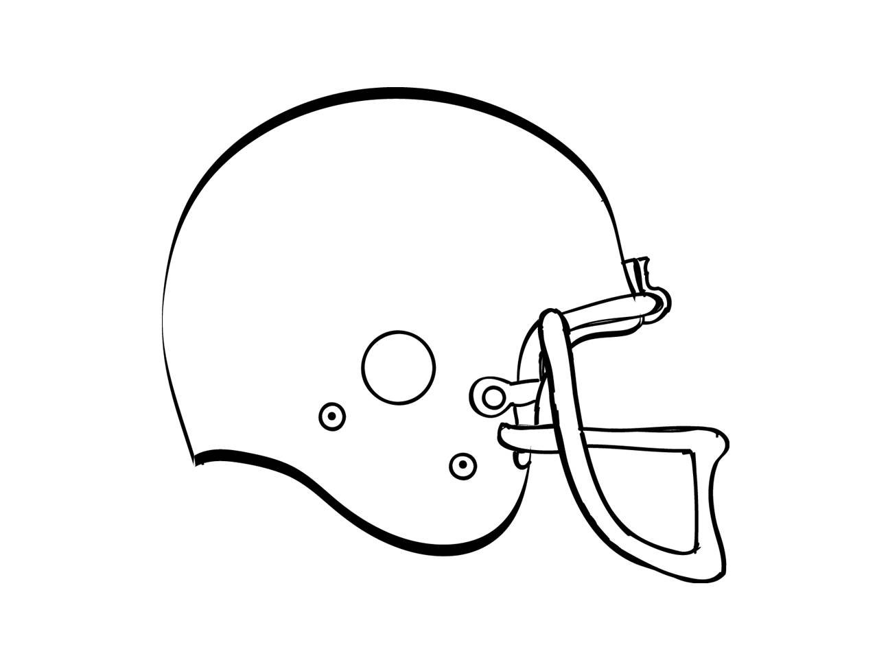 Football Helmet Coloring Page Free How To Draw A Football Helmet Download Free Clip Art Free