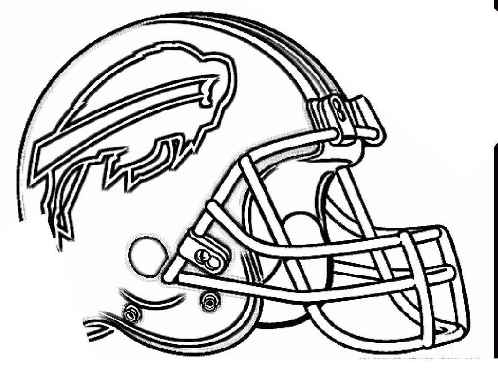 Football Helmet Coloring Page Nfl Football Helmets Coloring Pages Csb Linear Free Printable