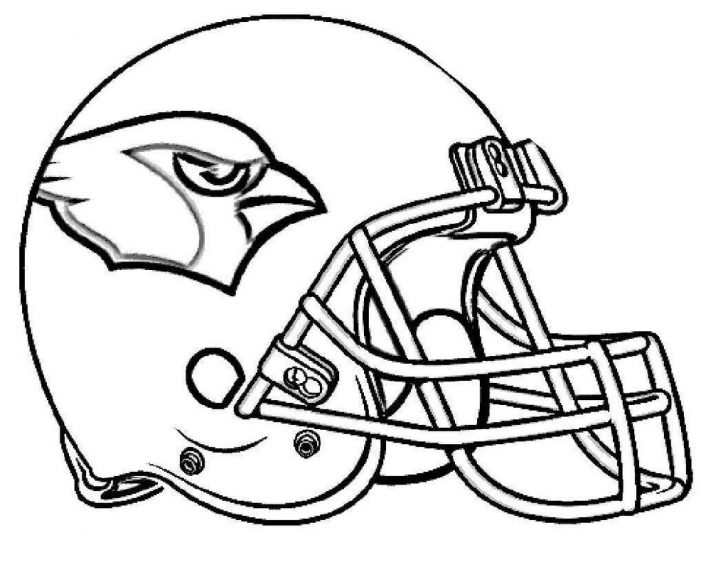 Football Helmet Coloring Page Nfl Football Helmets Coloring Pages Helmet Arizona Black And White
