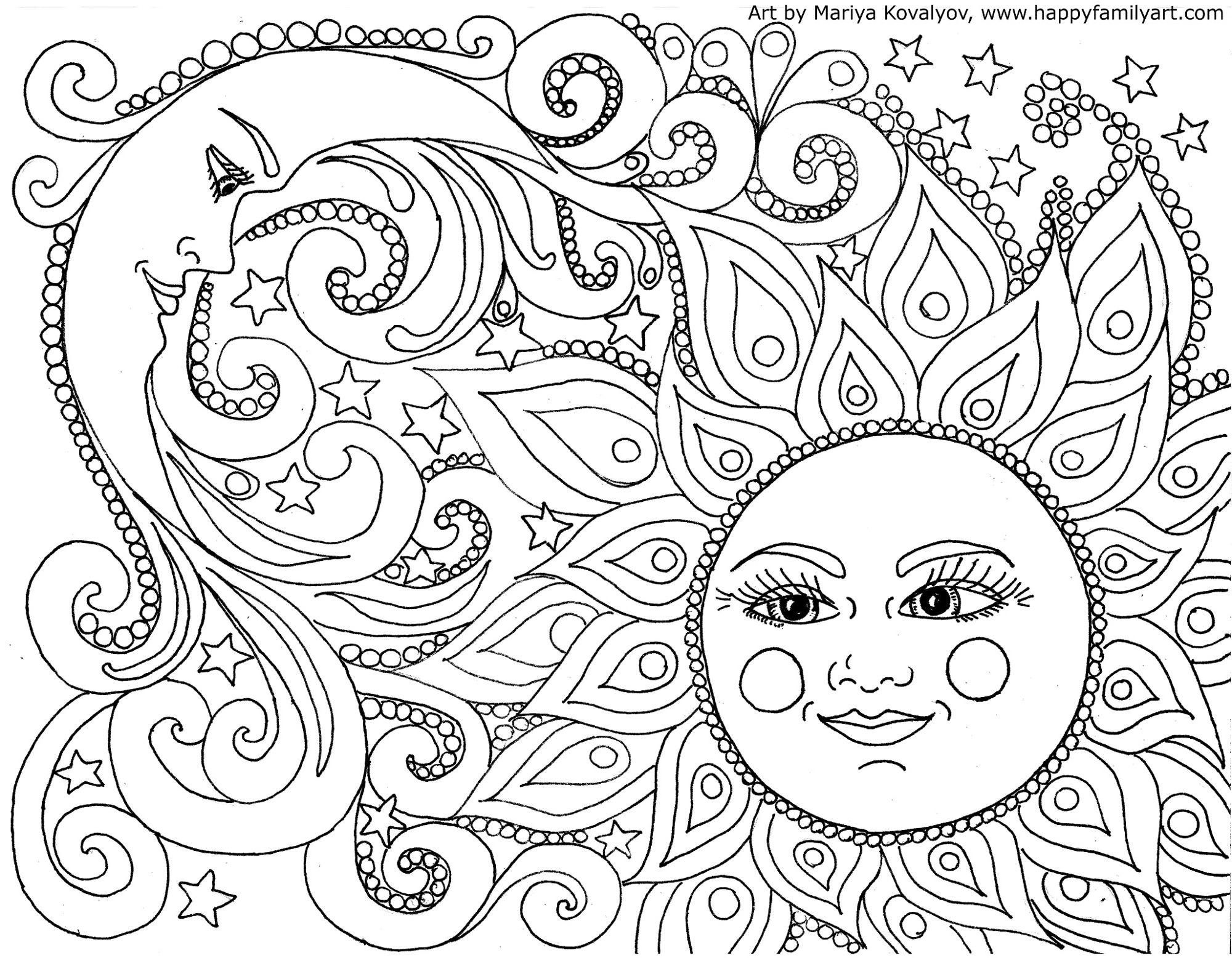 30+ Great Picture of Free Adult Coloring Pages