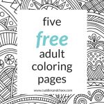 Free Adult Coloring Pages Treat Yo Self Free Adult Coloring Pages Cuddles Chaos