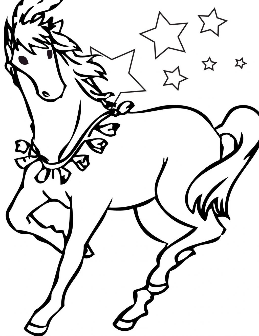 Free Horse Coloring Pages Coloring Pages Coloring Pages Free Printableorse For Kids Little