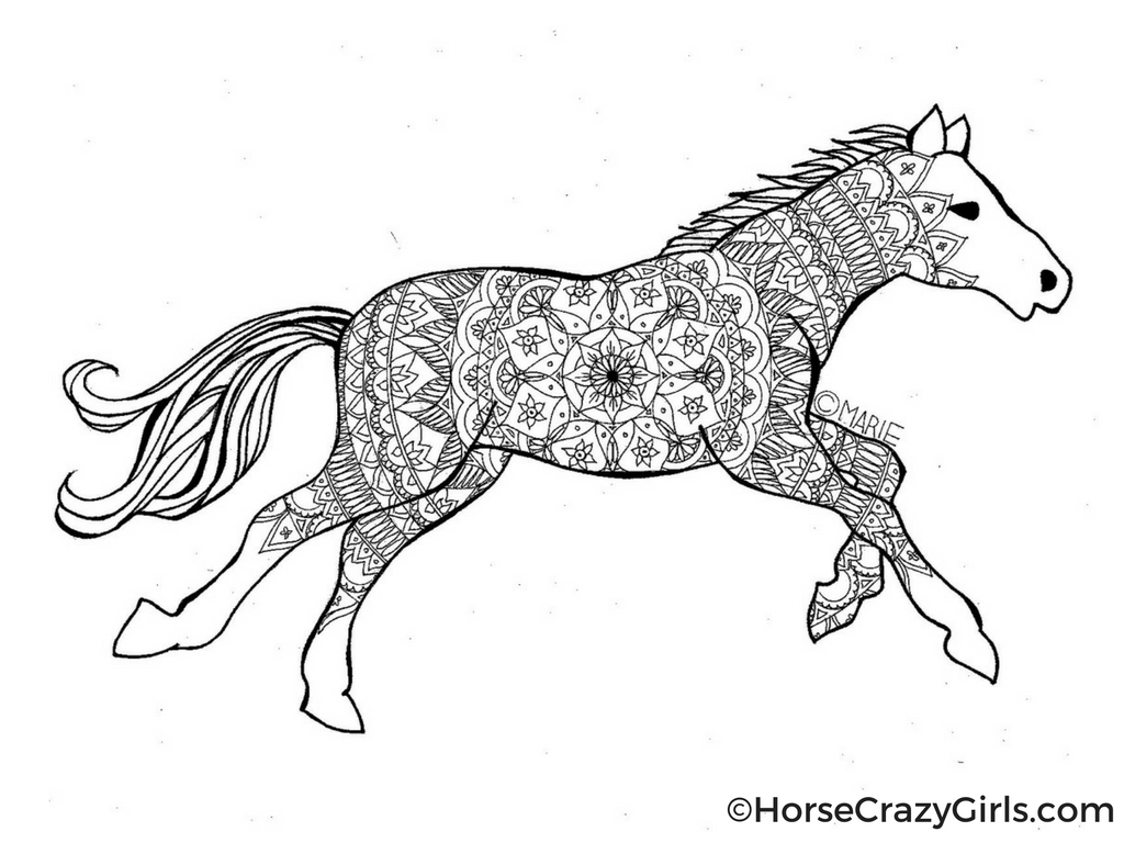 Free Horse Coloring Pages Horse Coloring Pages And Printables