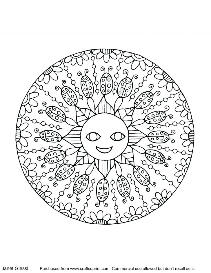 Free Mandala Coloring Pages 59 Awesome Free Mandala Coloring Pages For Adults Brainstormchi