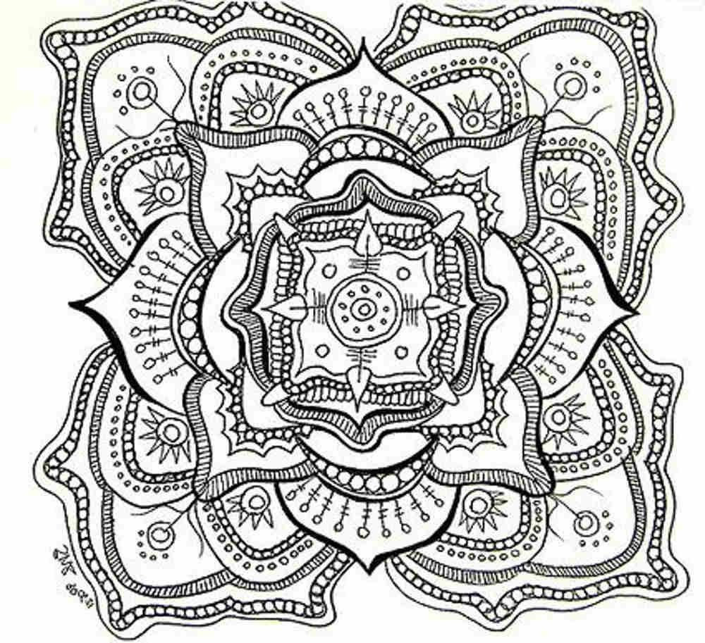 Free Mandala Coloring Pages Coloring Page Mandala Coloring Pages Pdf